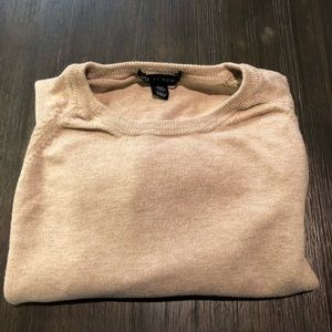 J. Crew Pima Cotton-Wool Crewneck Sweater
